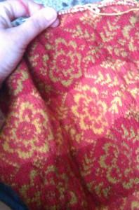 Red Sweater work in progress